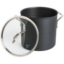 Calphalon Commercial Hard-Anodized Covered Stock Pot - 12 qt. in See Photo - Overstock