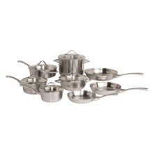 Calphalon Contemporary Stainless Cookware Set - 13-Piece in See Photo - Overstock