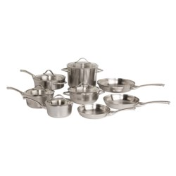 Calphalon Contemporary Stainless Cookware Set - 13-Piece in See Photo