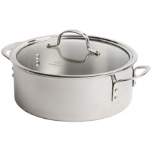 Calphalon Dutch Oven  - Triple-Ply Stainless Steel, 5 Quart in See Photo - Closeouts