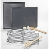Calphalon Nonstick Cookie Sheets and Cooling Racks - 4-pc. Set