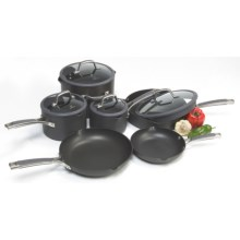 Calphalon Simply Calphalon Easy System Non-Stick Cookware Set - 10-Piece in See Photo - Closeouts