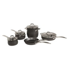 Calphalon Unison Non-Stick Cookware Set - 10-Piece in See Photo - Overstock