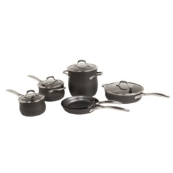 Calphalon Unison Nonstick Cookware Set - 10-Piece in See Photo
