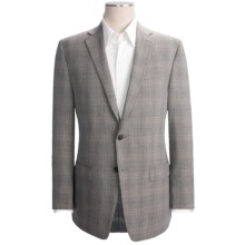 Calvin Klein Check Sport Coat - Wool-Linen (For Men) in Olive - Closeouts