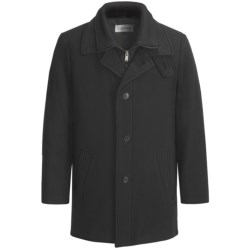 Calvin Klein Coleman Top Coat (For Men) in Black