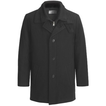 Calvin Klein Coleman Top Coat (For Men) in Black