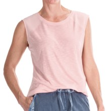 Calvin Klein Extended Raglan Shirt - Sleeveless (For Women) in Rosewater - Closeouts