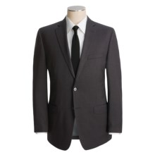 Calvin Klein Faded Plaid Suit - Wool, Slim Fit (For Men) in Charcoal - Closeouts