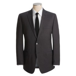 Calvin Klein Faded Plaid Suit - Wool, Slim Fit (For Men) in Charcoal