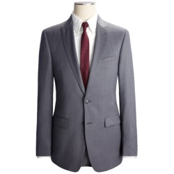 Calvin Klein Fancy Solid Suit - Extreme Slim Fit, Wool (For Men) in Light Grey