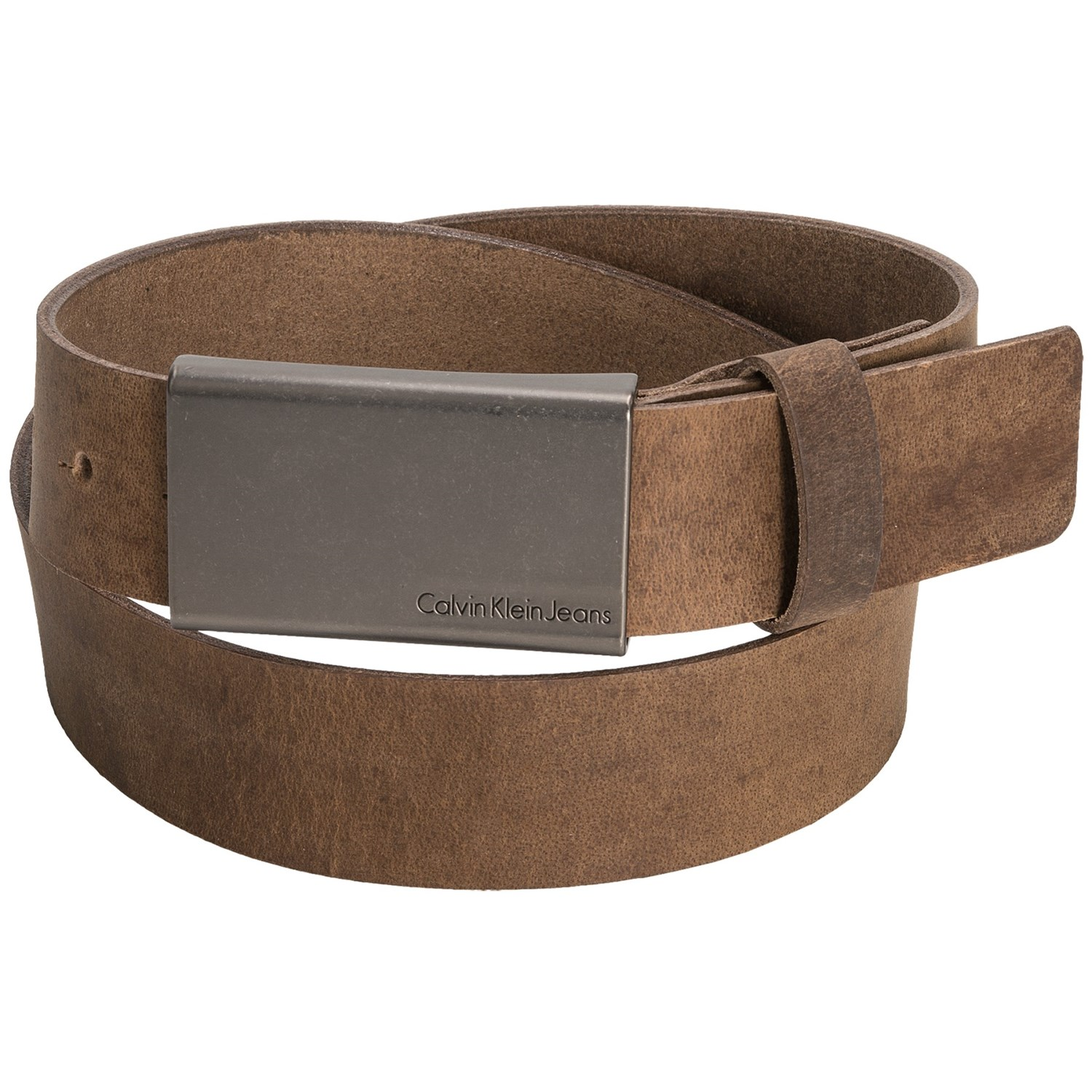 calvin klein flat leather belt for save 49