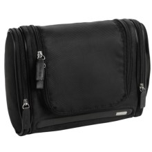 Calvin Klein Hanging Toiletry Bag (For Men) in Black - Closeouts