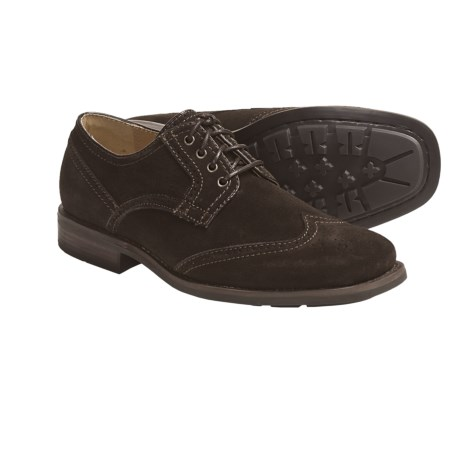 Calvin Klein Laurence Oxford Shoes (For Men) in Medium Brown Waxy Pull Up