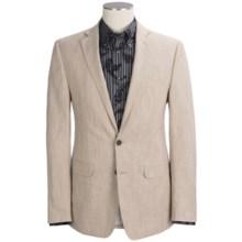 Calvin Klein Linen-Rich Sport Coat (For Men) in Khaki - Closeouts