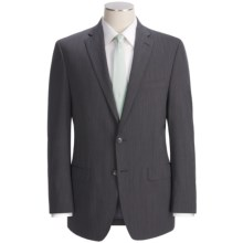 Calvin Klein Mini-Neat Suit - Slim Fit, Wool (For Men) in Black - Closeouts