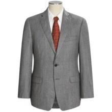 Calvin Klein Mini-Stripe Suit - Wool (For Men) in Grey - Closeouts
