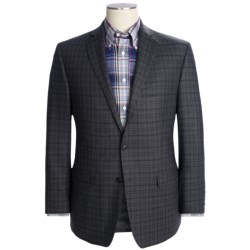 Calvin Klein Multi-Check Sport Coat - Slim Fit, Wool (For Men) in Grey Heather