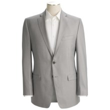 Calvin Klein Neat Sport Coat - Slim Fit (For Men) in Grey - Closeouts