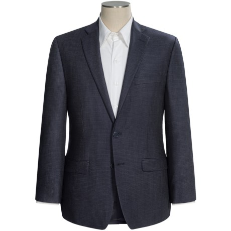 Calvin Klein Neat Sport Coat - Slim Fit (For Men) in Navy