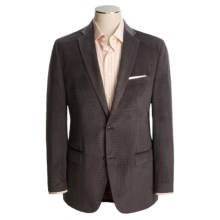 Calvin Klein Neat Sport Coat - Velvet (For Men) in Brown - Closeouts