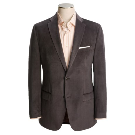 Calvin Klein Neat Sport Coat - Velvet (For Men) in Brown