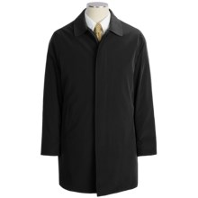 Calvin Klein Park Raincoat - Zip-Out Liner (For Men) in Black - Closeouts
