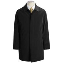 Calvin Klein Park Raincoat - Zip-Out Liner (For Men) in Black - Closeouts