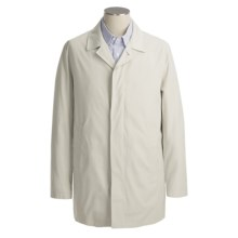 Calvin Klein Pinewood Rain Coat (For Men) in Stone - Closeouts