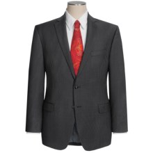 Calvin Klein Pinstripe Suit - Slim Fit (For Men) in Charcoal - Closeouts