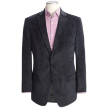 Calvin Klein Pinwale Corduroy Sport Coat - Slim Fit (For Men) in Black - Closeouts