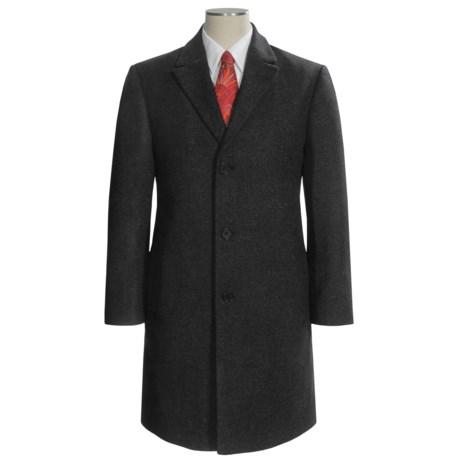 Calvin Klein Plaza Top Coat - Wool-Cashmere (For Men)