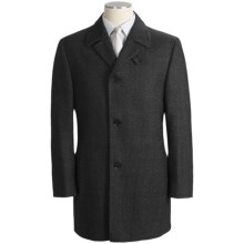 Calvin Klein Riviera Wool Fancy Topcoat (For Men) in Black - Closeouts