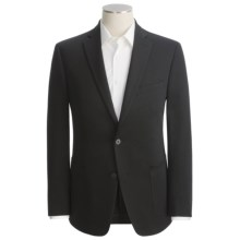 Calvin Klein Soft Knit Sport Coat - Cotton Blend (For Men) in Black - Closeouts