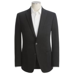 Calvin Klein Soft Knit Sport Coat - Cotton Blend (For Men) in Grey