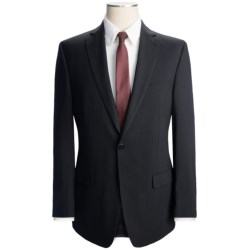 Calvin Klein Solid Wool Suit - Slim Fit (For Men) in Black