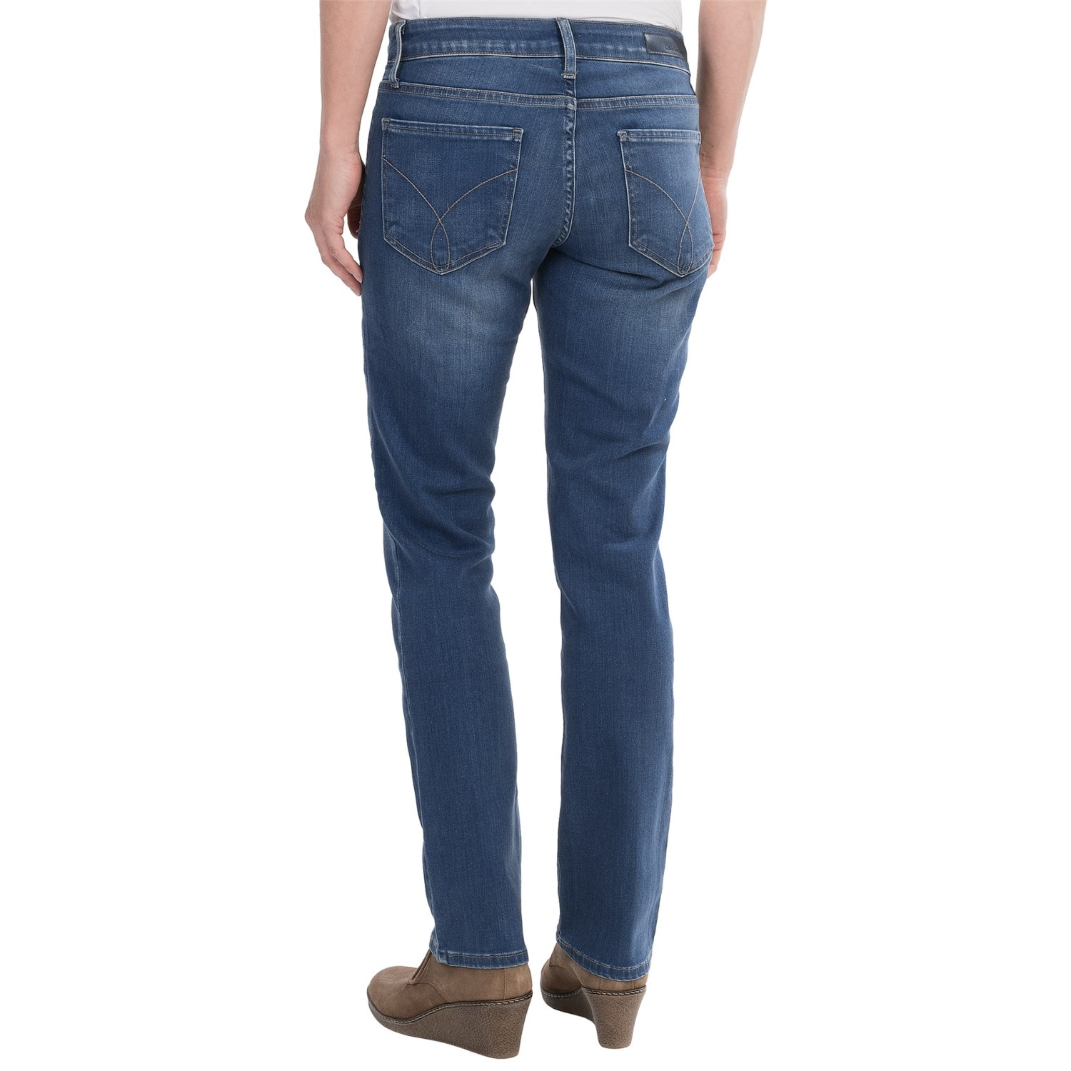 Calvin Klein Slim Straight Jeans | Male Models Picture