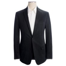 Calvin Klein Stripe Sport Coat - Slim Fit (For Men) in Black - Closeouts