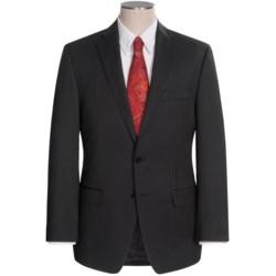 Calvin Klein Stripe Suit - Slim Fit (For Men) in Black