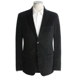 Calvin Klein Velvet Sport Coat - Slim Fit (For Men) in Black Print