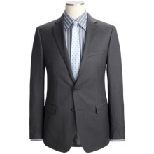 Calvin Klein Wool Herringbone Suit - Slim Fit (For Men) in Grey - Closeouts