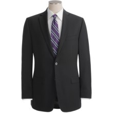 Calvin Klein Wool Suit - Slim Fit (For Men) in Black - Closeouts