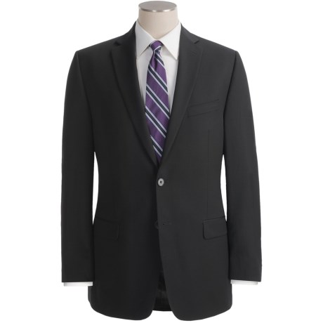 Calvin Klein Wool Suit - Slim Fit (For Men) in Stone