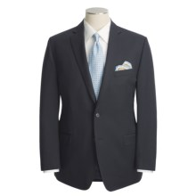 Calvin Klein Wool Suit - Slim Fit (For Men) in Navy - Closeouts