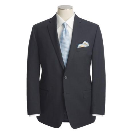 Calvin Klein Wool Suit - Slim Fit (For Men) in Black