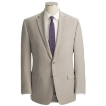 Calvin Klein Wool Suit - Slim Fit (For Men) in Stone - Closeouts