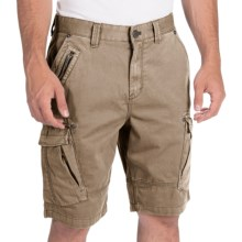 Calvin Klein Zip Detail Cargo Shorts (For Men) in Rattlesnake - Closeouts