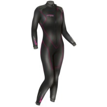 Camaro 2013 Stingray Overall Full Wetsuit - 7mm (For Women) in Black - Closeouts