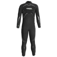 Camaro 5mm Seamless Dive Wetsuit - Semi-Dry (For Men) in Black/White/Green - Closeouts