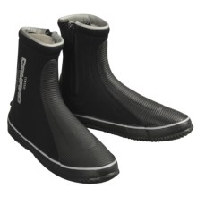 Camaro 6mm Classic Dive Boots (For Men and Women) in Black W/Grey Logo - Closeouts